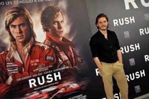 Daniel Brühl en la presentación de Rush (2)