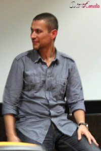 Rodrigo Cortés en la presentación de Grand Piano