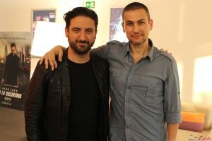 Eugenio Mira y Rodrigo Cortés en la presentación de Grand Piano