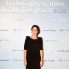 Nora Navas en la presentación de Todos queremos lo mejor para ella