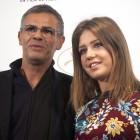 Abdellatif Kechiche y Adèle Exarchopoulos en la presentación de La vida de Adèle