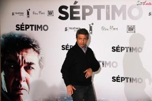 Ricardo Darín en la presentación de Séptimo