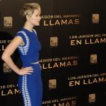 Jennifer Lawrence en la presentación de Los juegos del hambre: En llamas (2)