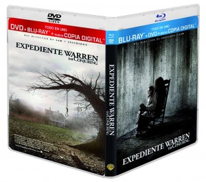 Combo Pack (Blu-ray + DVD + Copia Digital) de Expediente Warren – The conjuring