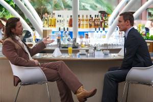 Brad Pitt y Michael Fassbender en El Consejero