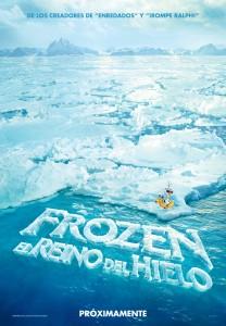 Frozen: El reino del hielo - Teaser poster