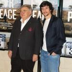 Jean-Yves Ollivier y Carlos Agulló en la presentación de Plot for Peace (2)