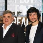 Jean-Yves Ollivier y Carlos Agulló en la presentación de Plot for Peace (3)
