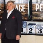 Jean-Yves Ollivier en la presentación de Plot for Peace (2)