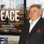 Jean-Yves Ollivier en la presentación de Plot for Peace (3)