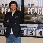 Carlos Agulló en la presentación de Plot for Peace