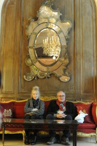 Lindsay Duncan y Jim Broadbent en Le Week-End