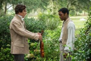 Benedict Cumberbatch y Chiwetel Ejiofor en 12 años de esclavitud