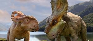 Patch y Juniper en Caminando entre dinosaurios