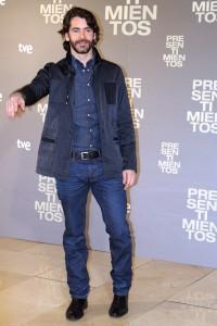Eduardo Noriega en la presentación de Presentimientos