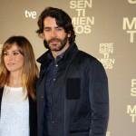 Marta Etura y Eduardo Noriega en la presentación de Presentimientos (2)