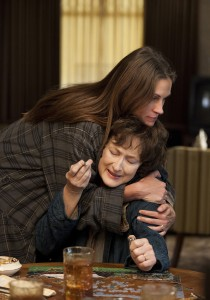 Julia Roberts y Meryl Streep en Agosto