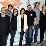 El equipo artístico de Musarañas (2)