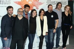 El equipo artístico de Musarañas