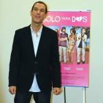 Roberto Santiago en la presentación de Sólo para dos