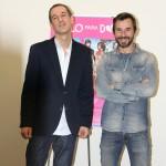 Roberto Santiago y Santi Millán en la presentación de Sólo para dos (2)