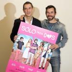 Roberto Santiago y Santi Millán en la presentación de Sólo para dos (3)
