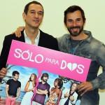Roberto Santiago y Santi Millán en la presentación de Sólo para dos (4)