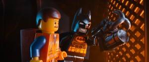 Emmet y Batman en La LEGO película