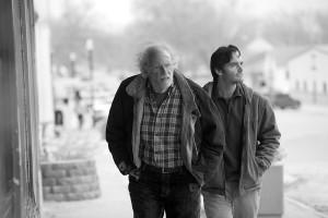 Bruce Dern y Will Forte en Nebraska