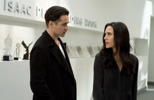 Colin Farrell y Jennifer Connelly en Cuento de invierno