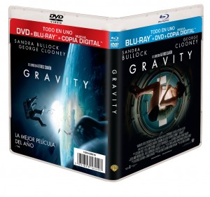 Combo Pack (Blu-ray + DVD + Copia Digital) de Gravity