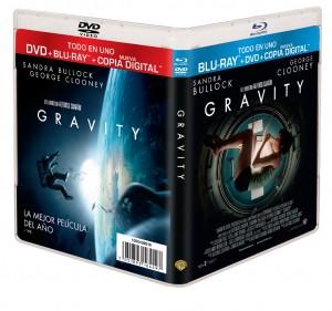 Combo Pack (Blu-ray + DVD + Copia Digital) de Gravity