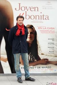 François Ozon en la presentación de Joven y bonita (2)