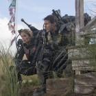 Emily Blunt y Tom Cruise en Al filo del mañana