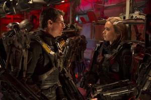 Tom Cruise y Emily Blunt en Al filo del mañana