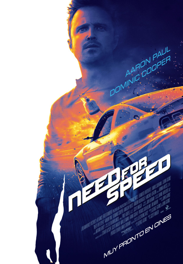 Need for speed - Teaser poster