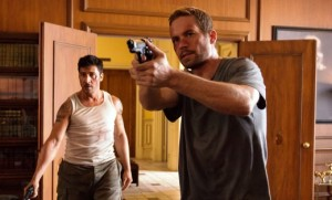 David Belle y Paul Walker en Brick Mansions