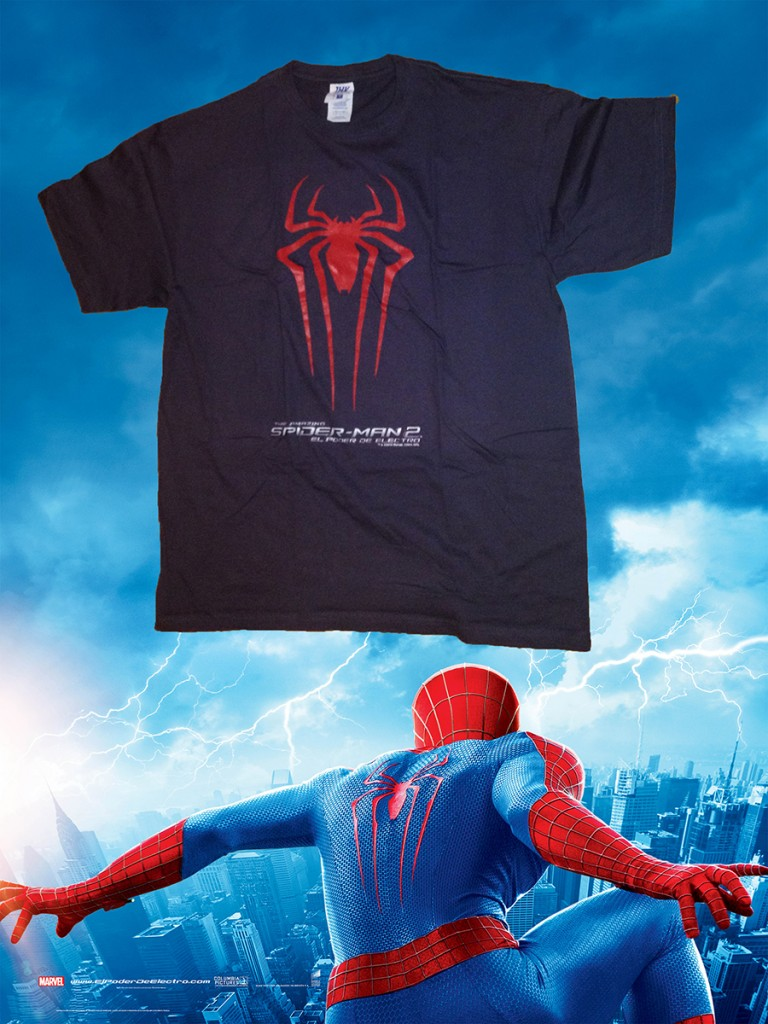 Camiseta The Amazing Spider-Man 2: El poder de Electro