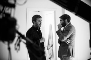 Denis Villeneuve y Jake Gyllenhaal en Enemy
