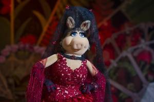 La señorita Peggy en El tour de los muppets