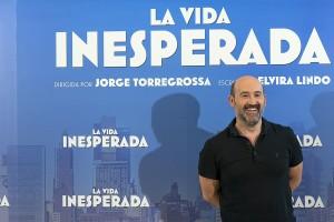 Javier Cámara en la presentación de La vida inesperada