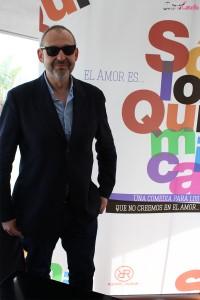 Alfonso Albacete en la presentación del proyecto Solo química (2)