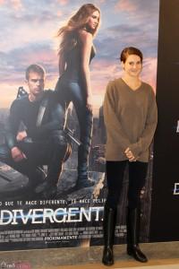 Shailene Woodley en la presentación de Divergente (3)