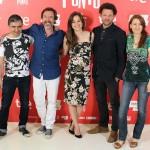 Dominic Harari, Ginés García Millán, Leonor Watling, Richard Coyle y Teresa Pelegri en la presentación de Amor en su punto