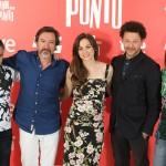 Dominic Harari, Ginés García Millán, Leonor Watling, Richard Coyle y Teresa Pelegri en la presentación de Amor en su punto (2)