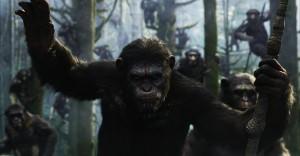 Fotograma de El amanecer del plantera de los simios