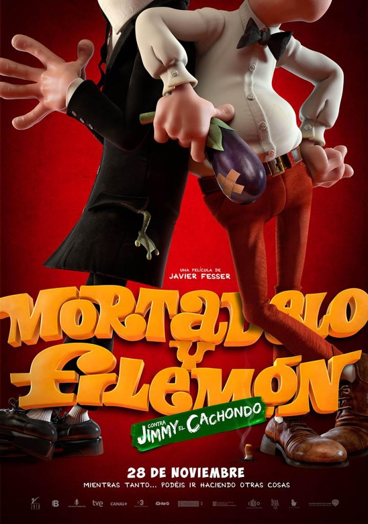 Mortadelo y Filemón contra Jimmy el Cachondo - Teaser poster