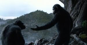 Fotograma de El amanecer del plantera de los simios (2)