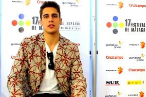 Matiño Rivas en la presentación de Por un puñado de besos en el 17 festival de Málaga