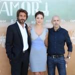 Daniele Liotti, Paloma Bloyd, y Joaquín Llamas en la presentación de Perdona si te llamo amor (2)